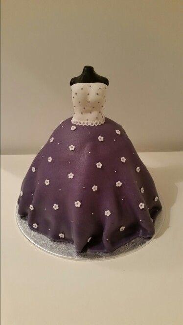 Dress cake / jurk taart