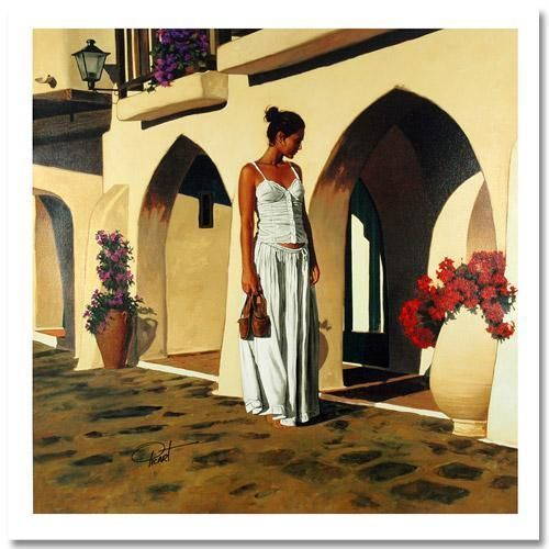 MINORCAN WALK BY GABRIEL PICART, SIGNED/NUMBERED/COA