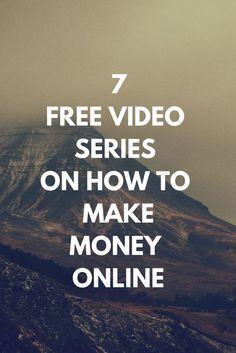 A free video series on how to make money online (scheduled via http://www.tailwindapp.com?utm_source=pinterest&utm_medium=twpin)