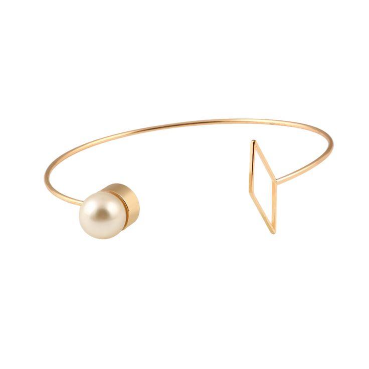Bracelet géométrique or 2016