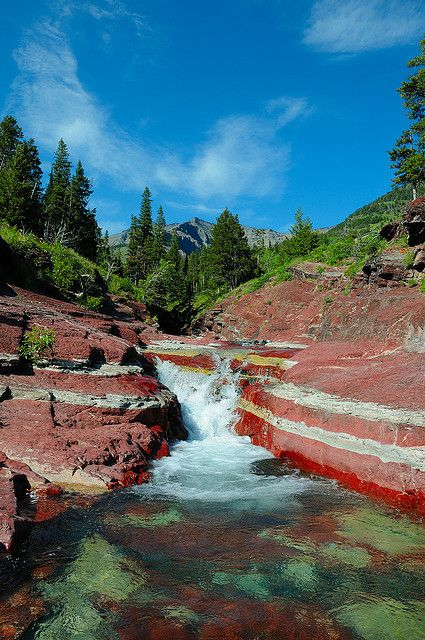 Waterton Park's, Red Rock Canyon, Alberta, Canada. #wilderness #Canada #travel