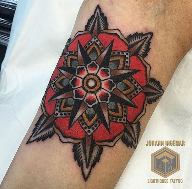 Nelson Mandala From Sign Of The Wolf For Bookingsw Lighthousetattoo Com Au Contact Lighthousetattoo Com Au 61 Tattoos Japanese Tattoo Lighthouse Tattoo