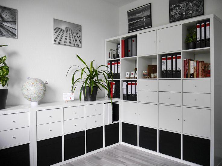 die besten 25 kallax schreibtisch ideen auf pinterest ikea ikea hacks und ikea hacker ideen. Black Bedroom Furniture Sets. Home Design Ideas