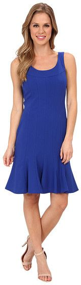 Calvin Klein Lux Dress with Trumpet Skirt CD4X16Z7