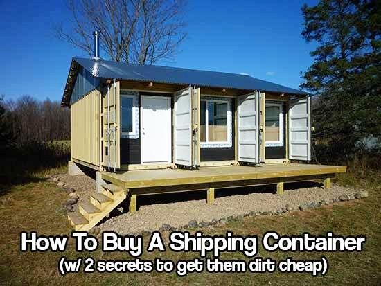The 25 best buy shipping container ideas on pinterest shipping how to find and buy a shipping container with 2 secrets to get them dirt cheap ccuart Image collections