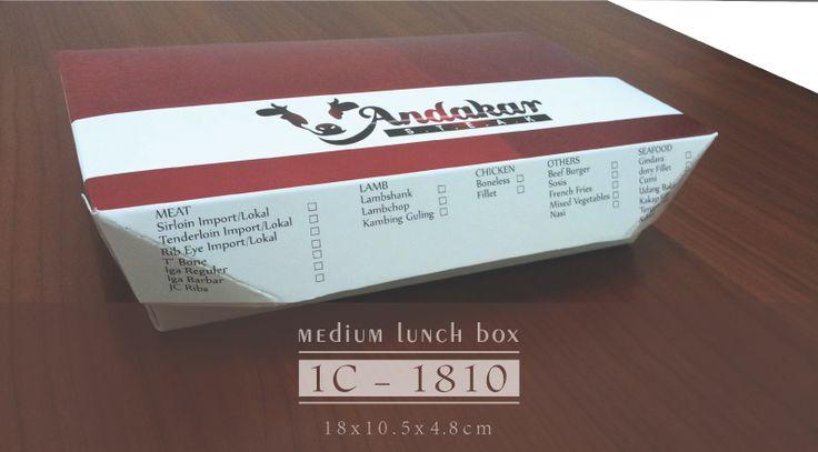 Jasa Pembuatan Box Makanan Food Grade, Gambar di atas merupakan Box Makanan Steak Andakar menggunakan Box Makanan Greenpack. Info Pembuatan dapat mengunjungi link berikut ini : www.greenpack.co.id