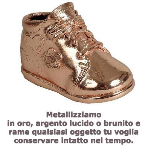 Metallizzazione oggetti.
