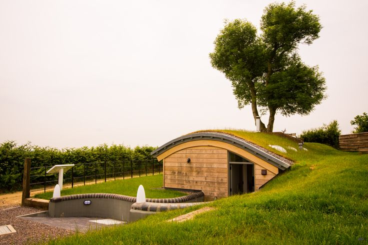 A restored WW2 bunker in the lush, Monmouthshire hillsides, with a fascinating history and stunning country vistas…