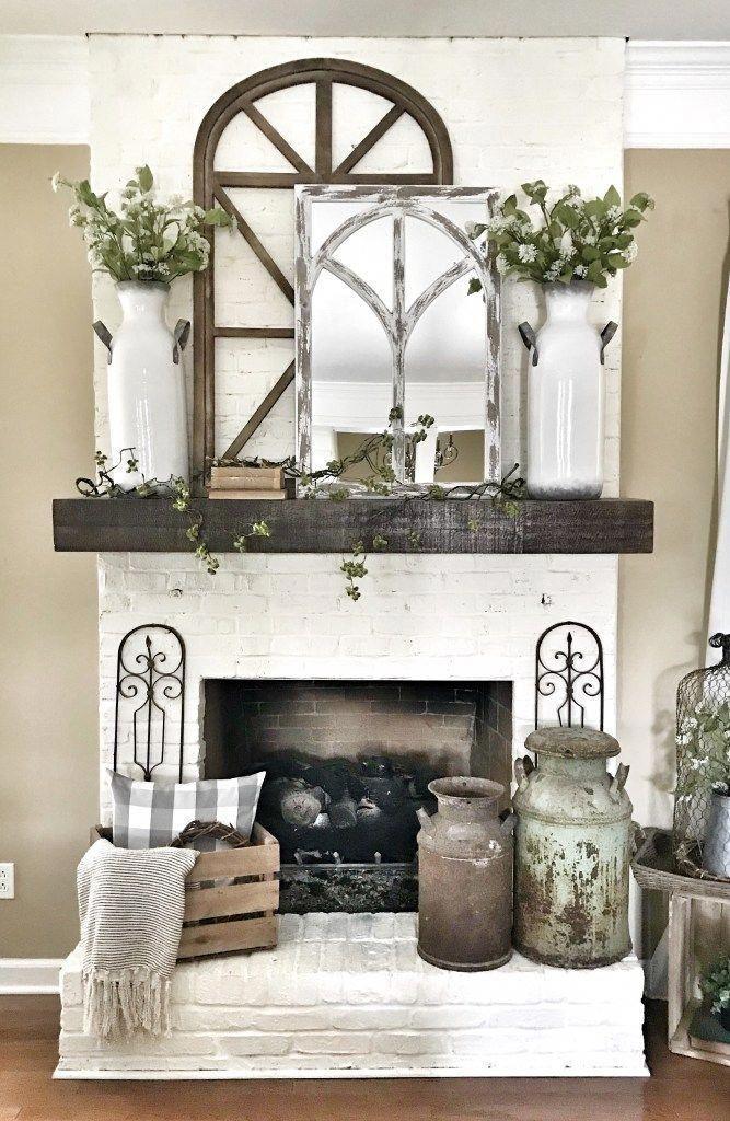Interiordesign Homedecorideas Bedroom Livingroom Kitchen Fireplace Mantle Decor Farmhouse Mantle Decor Fireplace Mantel Decor