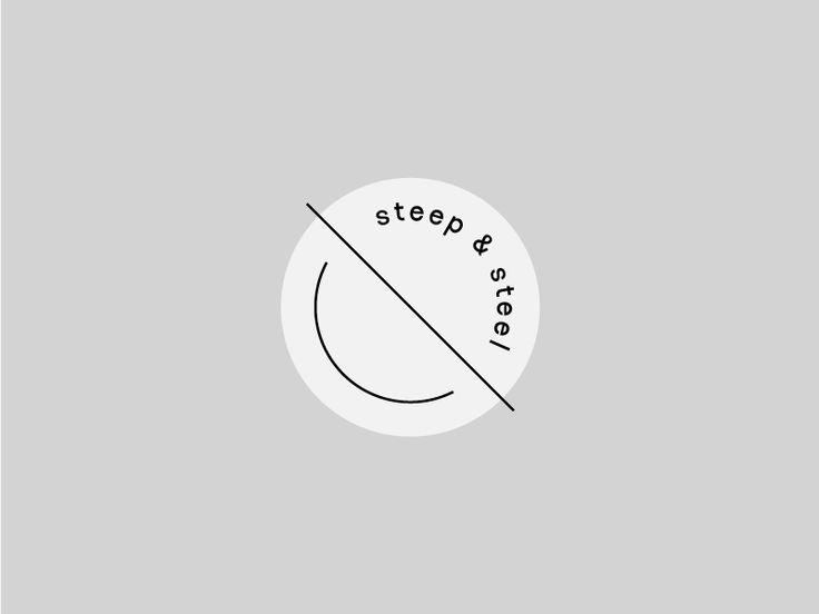 Logo created for artisanal tea brand Steep & Steel | Graphic Design