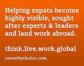 Why Networking is So Critical to the International Job Search ( ~ expat networking ~ )