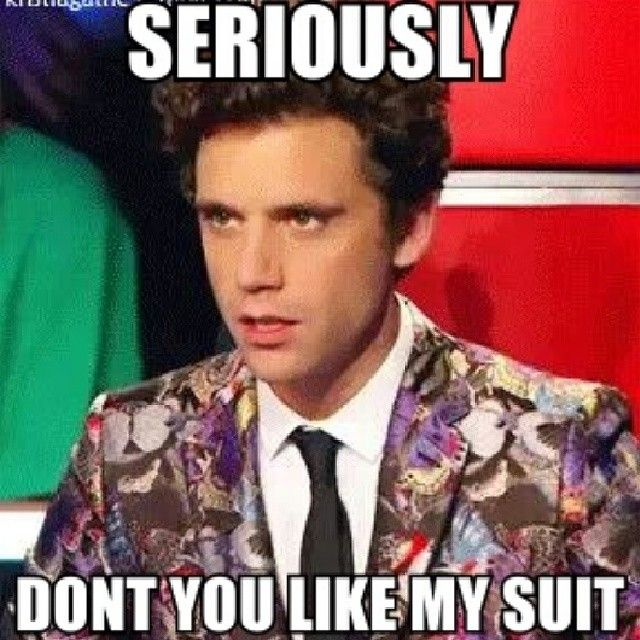 well.... i like it on you Mika.