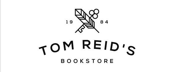 Tom Reid's Bookstore Logo #branding #visualidentity #logodesign #corporateidentity #stationery