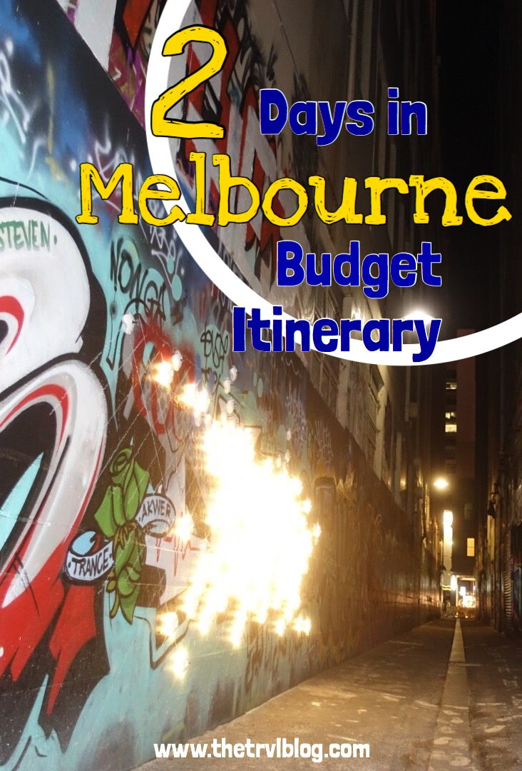 Melbourne is the culture capital of Australia.  It can often be difficult to decide what to do with yourself when your have limited time in a world renowned city.  Well, never fear, follow this 2 days in Melbourne budget itinerary to make the most of your short stay.