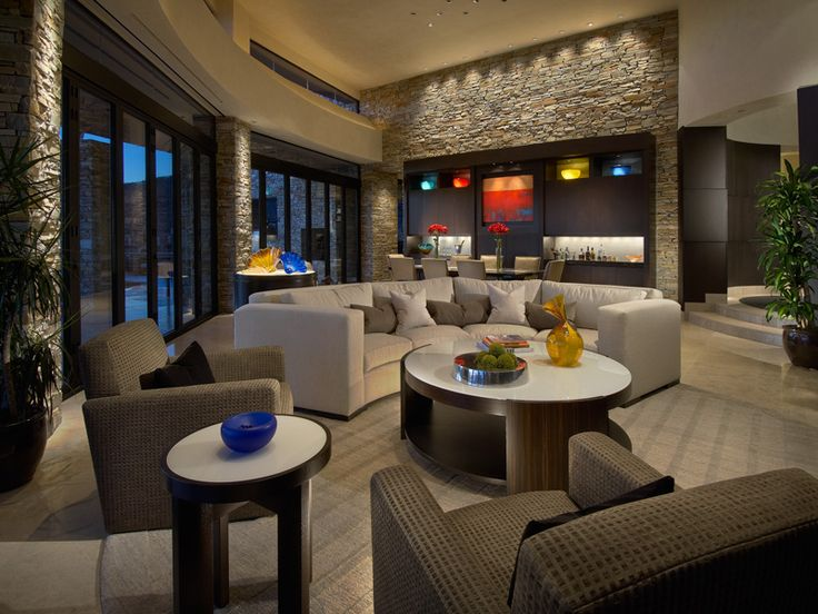 17 Best Images About Home Decor: Contemporary Living Room Design