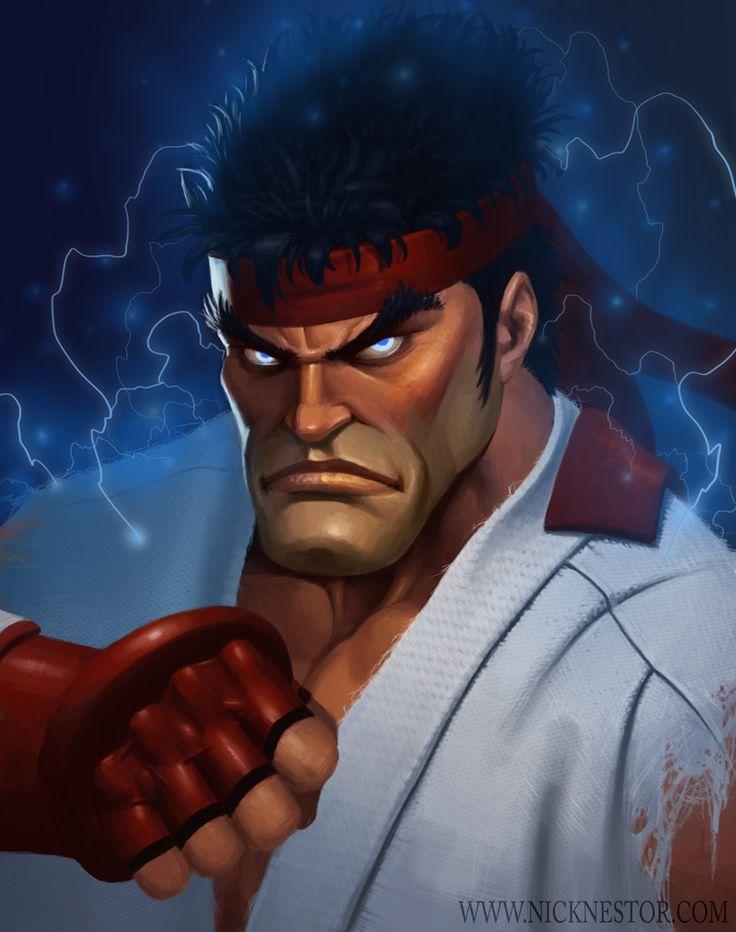 Ryu by Nestoronfire on DeviantArt