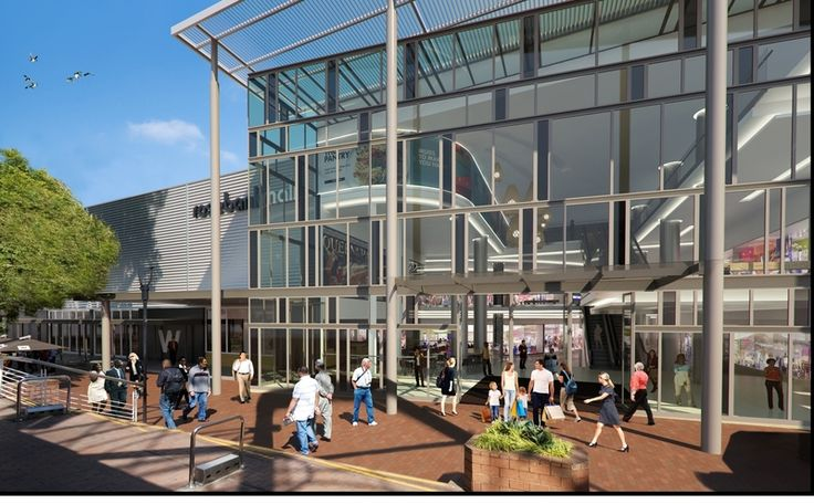 Rosebank Mall Redevelopment - 2  More info: http://blog.galetti.co.za/2013/03/rosebank-mall-redevelopment-ongoing/