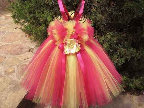 Tutu Dress, FIRST BIRTHDAY GIRL,  Bit of Fluff Top, Babies 3-24 Months   ElsaSieron - Clothing on ArtFire