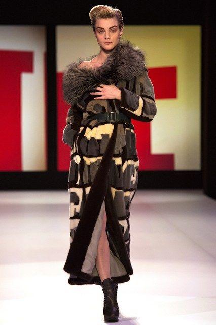 Jean Paul Gaultier - www.vogue.co.uk/fashion/autumn-winter-2013/ready-to-wear/jean-paul-gaultier/full-length-photos/gallery/948268
