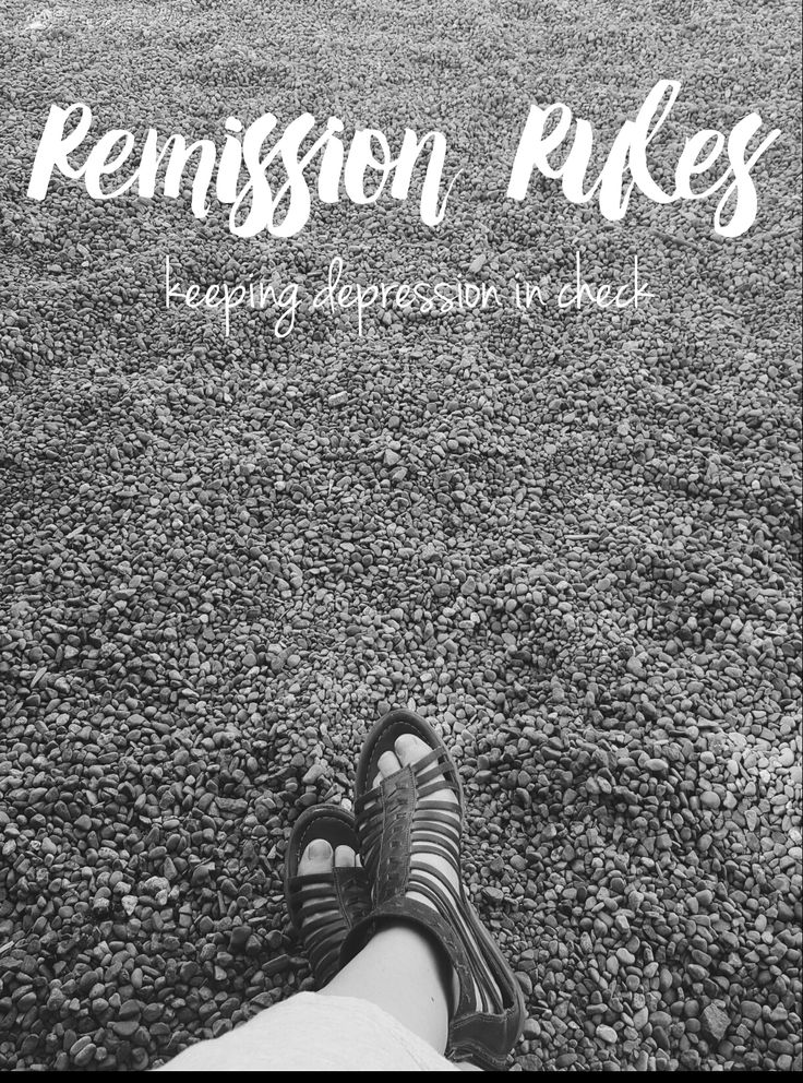 Remission Rules - tips for keeping depression in check