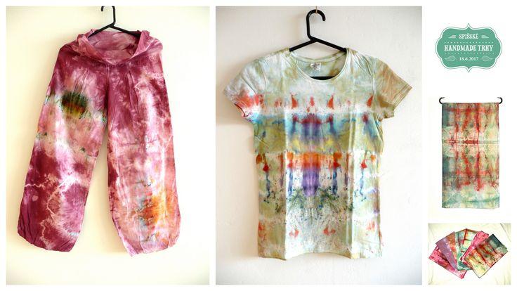 La Farbička - Maľované a batikované tričká, obrusy, nohavice, plachty, košele, posteľné prádlo