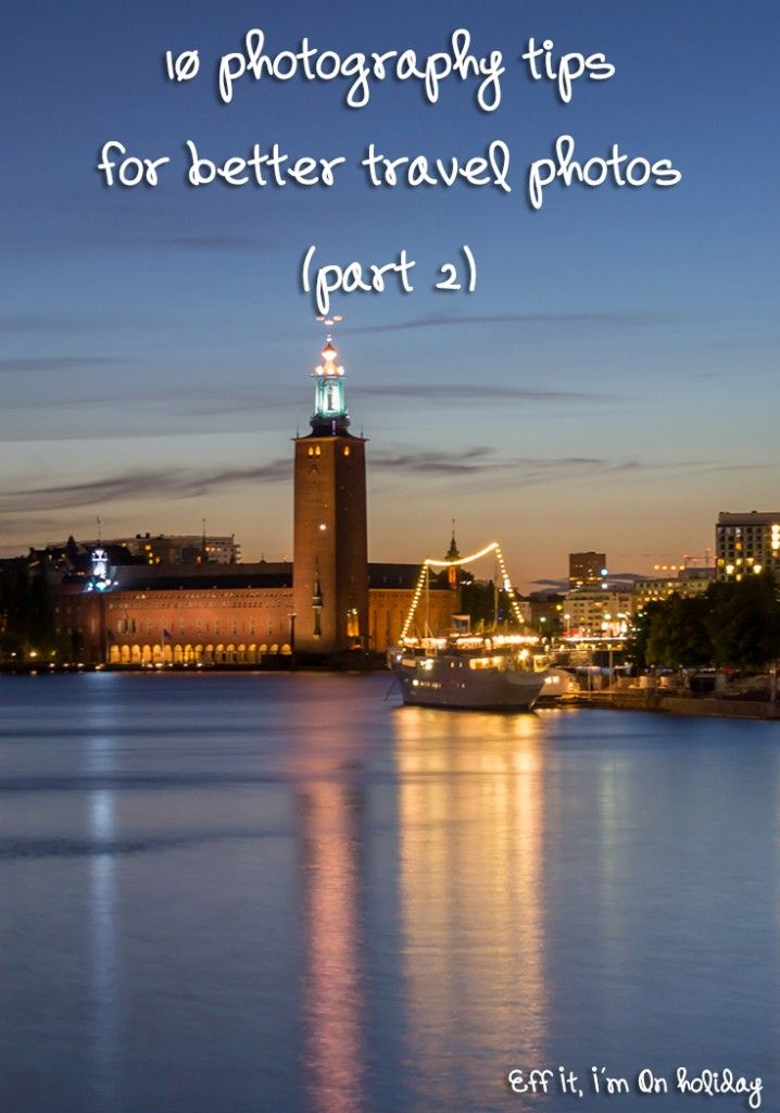 We all want to take good travel photos to show our friends. A few simple tips can improve your travel photos significantly, would you like to find out how?
