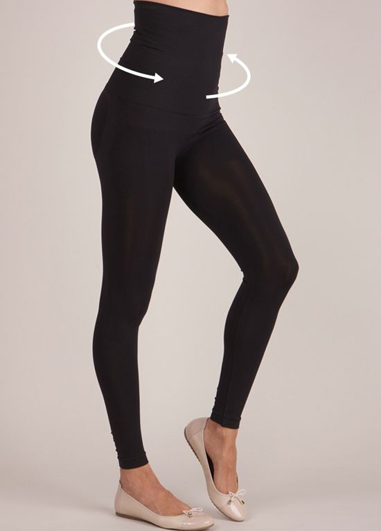 Queen Bee Post Maternity Leggings in Black by Seraphine