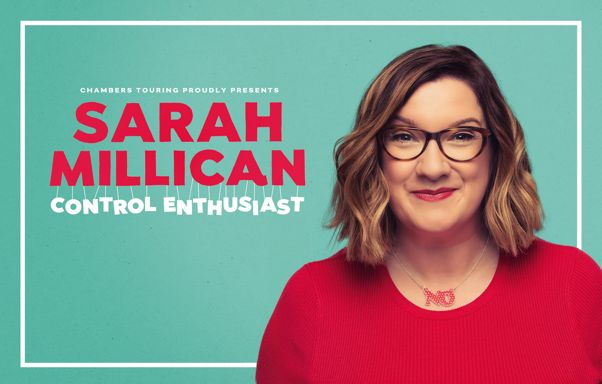 Sarah Millican live at The Olympia Theatre, Dublin