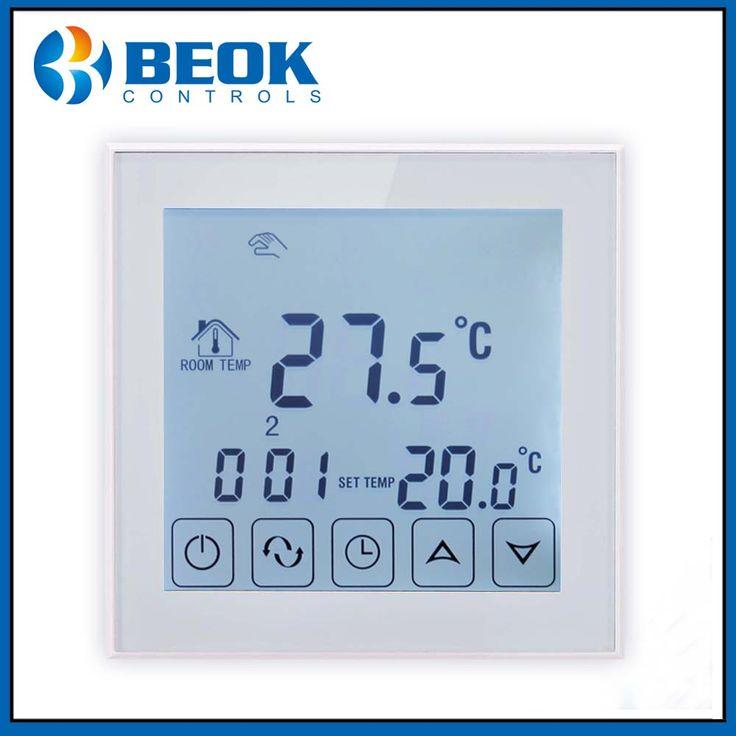 TDS23-EP Fußbodenheizung Raumthermostat Temperaturregler Digitale Elektrische Temperaturregler Programmierbarer Thermostat