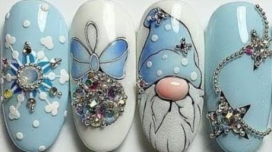 15 New Year Nail Art Designs 2019 | Best…