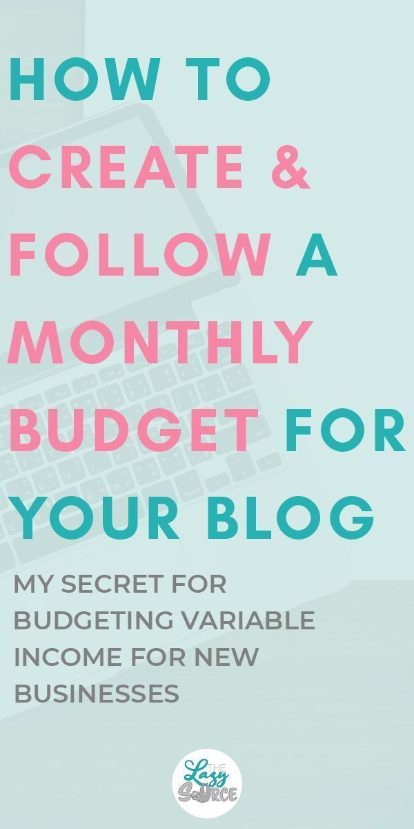 How to Create  Follow a Monthly Budget for Your Blog Social Media
