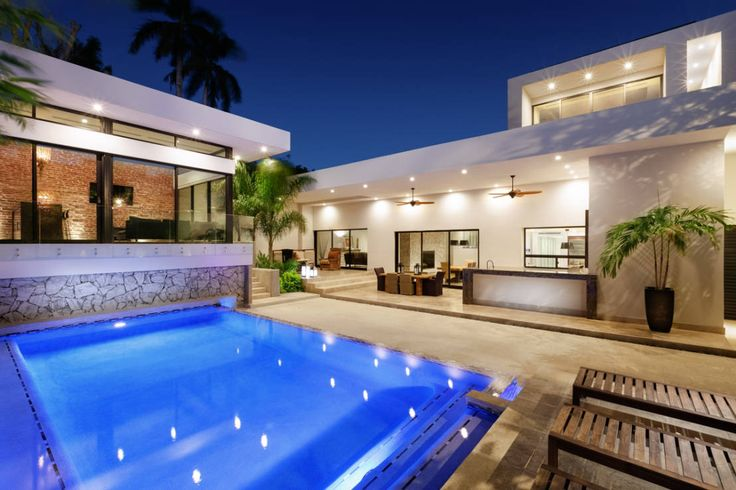 M s de 1000 ideas sobre albercas modernas en pinterest for Terrazas y piscinas modernas