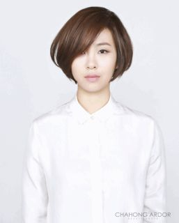Chic Cushion Perm #short #hair #beauty #cut #chahongardor