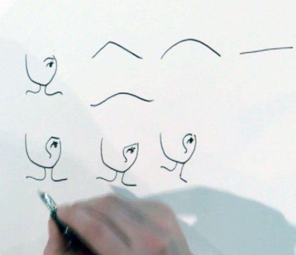 Jill laat je zien hoe je verschillende gezichtsuitdrukkingen moet tekenen. Kijk op www.zapp.nl/jill