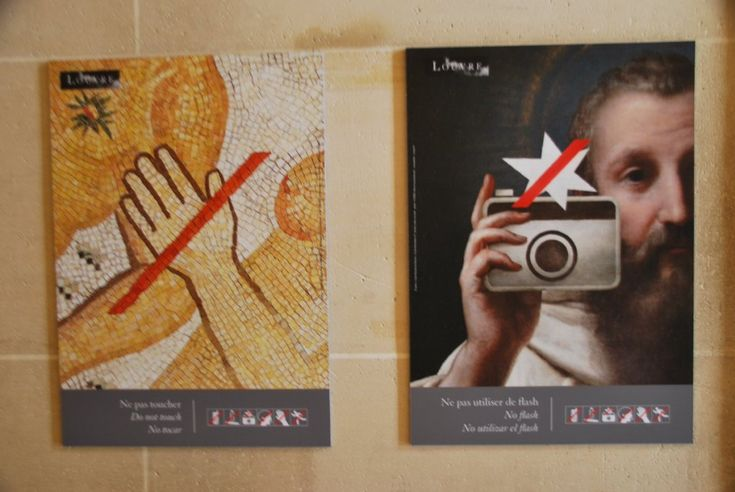 Cartells al Musée du Louvre, museografia, exposicions, cultura. museologia