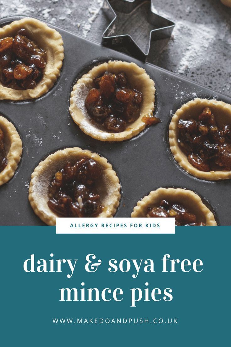 Recipe // Dairy and Soya Free Mince Pies