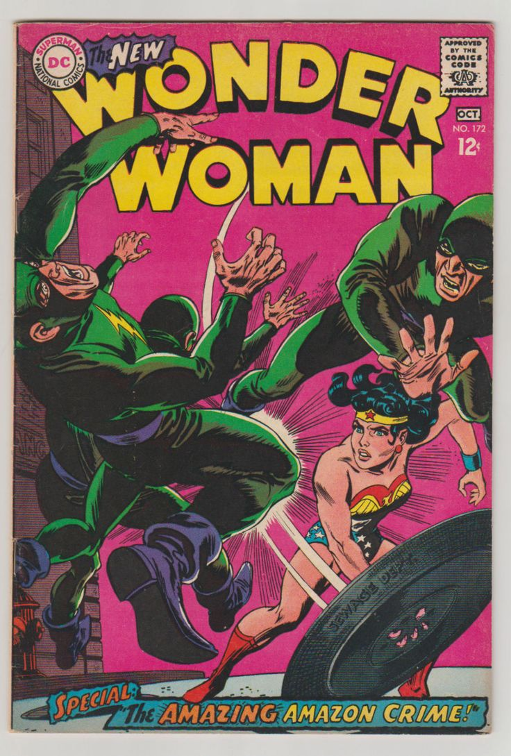 Wonder Woman, Vol 1, 172, Silver Age Comic Book. FN/VF. September 1967. DC Comics #wonderwoman #silveragecomics #comicsforsale