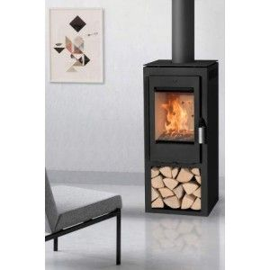 Danburn Samso Stove is a new contemporary wood burning stove from Beltane Stove range. The Danburn Samso wood burning stove is a quality Danish stove named after a Danish island. The Samso firebox is sat on a log store for extra height and storage making it an ideal contemporary freestanding stove in a new build. DanburnSamsø Stove - Defra Approved The Samso woodburner from Beltane stoves is approved for burning wood in smoke exempt areas. The Danburn stoves have high effiiciency ratings…