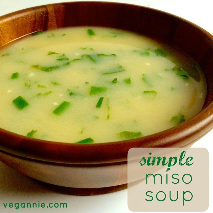 die besten 25 easy miso soup recipe ideen auf pinterest. Black Bedroom Furniture Sets. Home Design Ideas