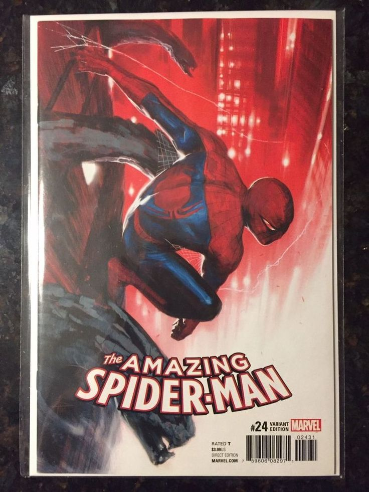 AMAZING SPIDER-MAN #24,Dell`otto 1/25 Variant Cover,NM!