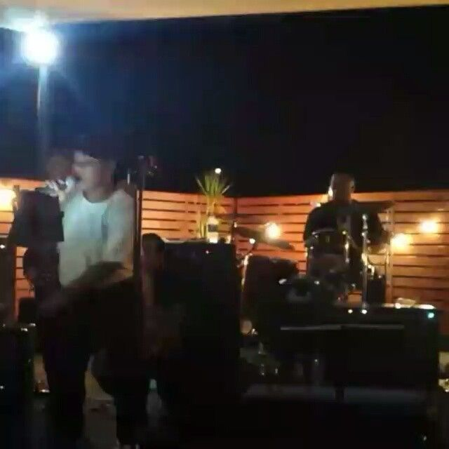 Timalicious layin it down 'Lose to win'  @misstavaga that suweeet voice though #kgroovenow kgroovenow,  band, K-GROOVE-NOW