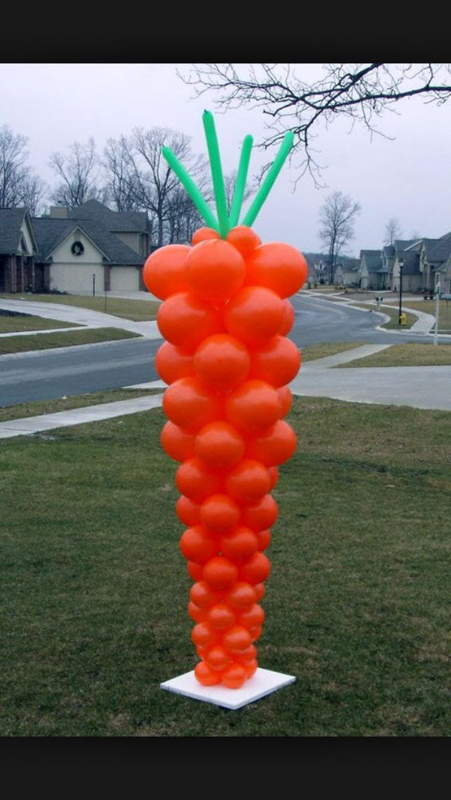Totally doing this for Easter Egg Hunt at church!!! The rabbits are going to be so jealous!!