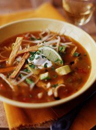 Ina's Mexican Chicken Soup