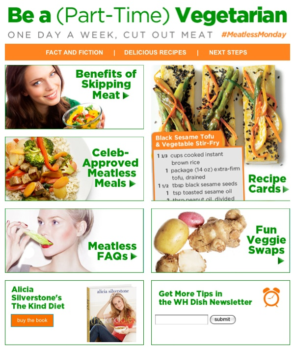 Going #meatless once per week is good for your heart, your waistline, and the environment! Get yummy recipes and learn more about being a part-time vegetarian! #meatlessmondayWomen'S Health, Yummy Recipe, Meatlessmonday Healthy Recipe, Fit Diet, Parts Tim Vegetarian, Women Health, Health Magazine, Health Fit, Weights Loss