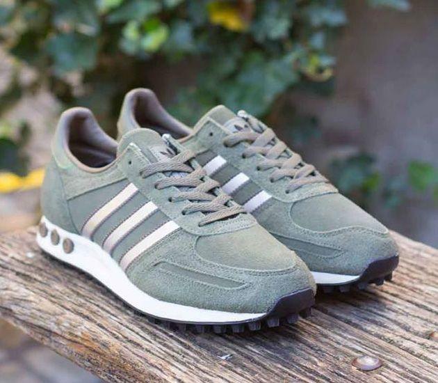 Adidas La Trainer Vapour Green