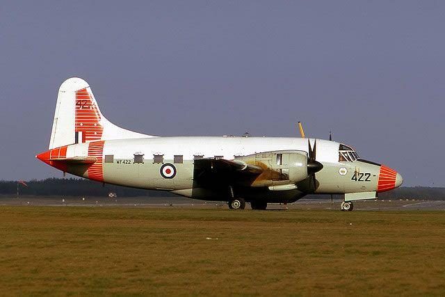 """Vickers Varsity """" Flying Pig """" College Of Air Warefare RAF Strubby @ 1970."""