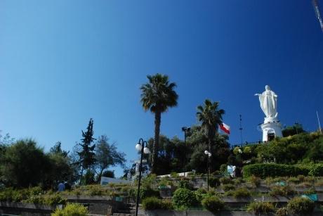 Virgen del Cerro San Cristobal. SCL