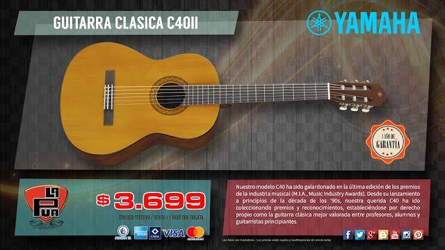 "La Púa San Miguel: GUITARRA CLASICA ""YAMAHA"" C40II"