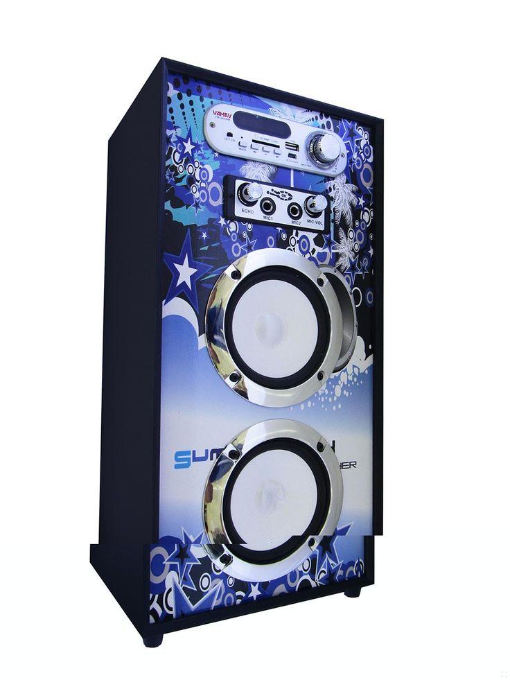 Altavoz Portátil Karaoke Bluetooth Radio FM y Batería Interna modelo V-1171 01 - Altavoz Portátil Karaoke Bluetooth Radio FM y Batería Interna Podrás escuchar toda tu música sin necesidad de cablesademás gracias a la tecnología Bluetooth, reproduce la música de tu móvil o tablet directamente en el altavoz sin cables de por medio. Radio FM para que no te pierdas tus programa... - http://buscacomercio.es/producto/altavoz-portatil-karaoke-bluetooth-radio-fm-y-bateria