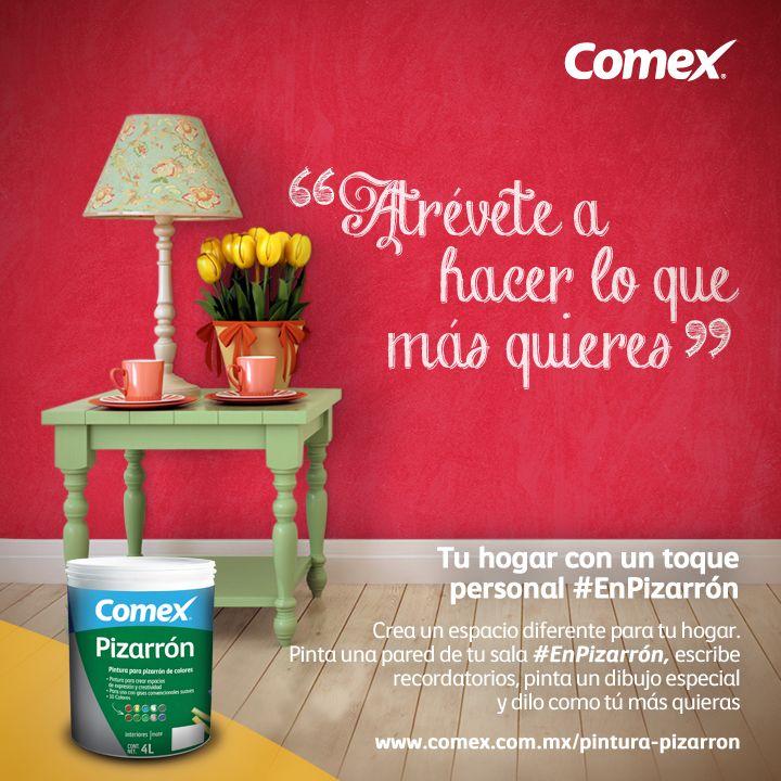 ¡Dale a tu casa un toque personal   #Pizarrón #tips #hogar #consejos #pintura